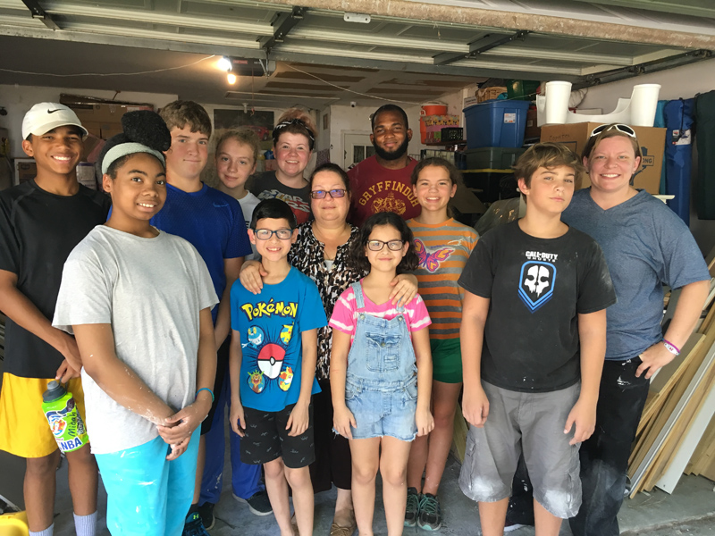 Jr.  High  Mission  Trip  –  Houston