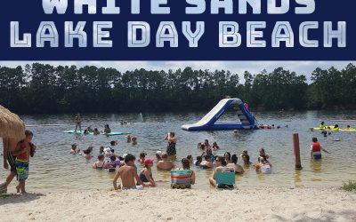 White Sands Lake Day Beach