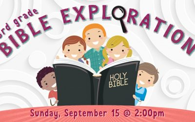 3rd Grade Bible Exploration