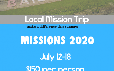 Local Mission Trip